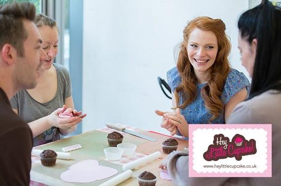 Hey Little Cupcake decorating class, Spinningfields