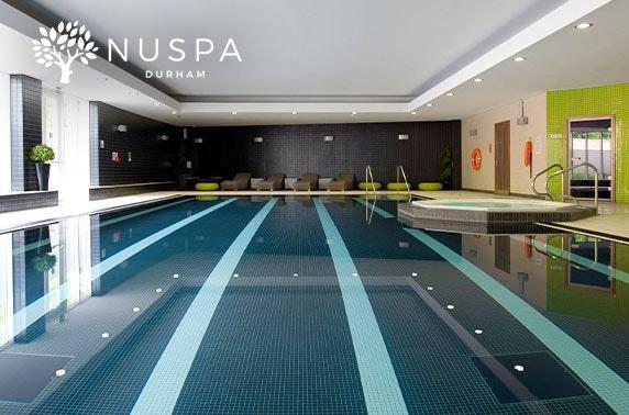 Spa day at NUSPA Durham in 4* Radisson Blu Hotel, City Centre