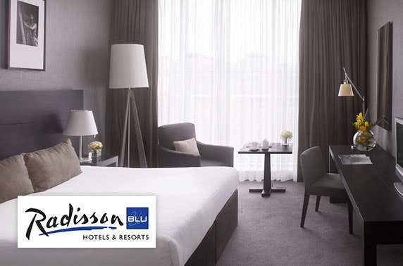 4* Radisson Blu Glasgow overnight stay – from £99