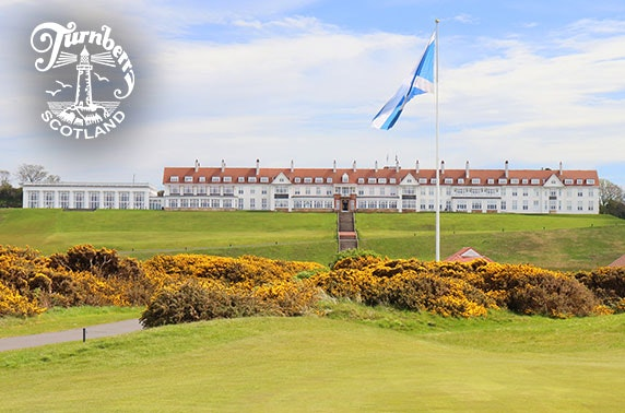 Luxury stay at Trump Turnberry