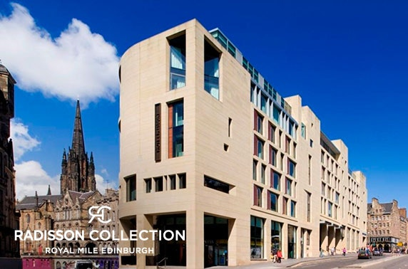 5* Radisson Collection afternoon tea, Royal Mile
