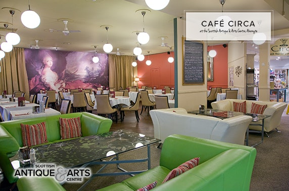 Café Circa at Scottish Antique & Arts Centre, Abernyte
