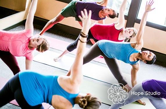 Hope Studio yoga classes