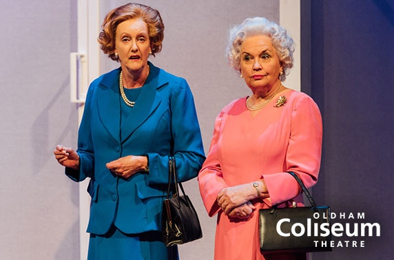 Critics' favourite & Olivier nominee, Handbagged