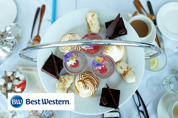 Afternoon tea at Best Western Queens Hotel, Perth City Centre