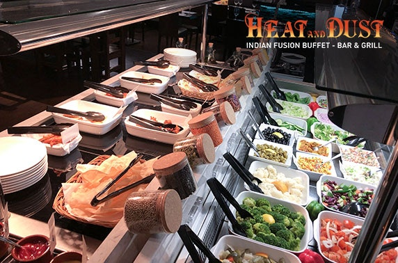 All you can eat Indian fusion buffet - £9.50pp