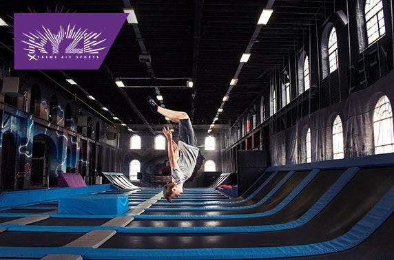 Ryze trampoline park 2 hour pass