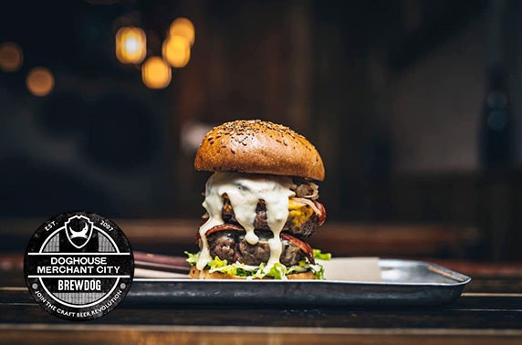 BrewDog burgers and beer, Merchant City