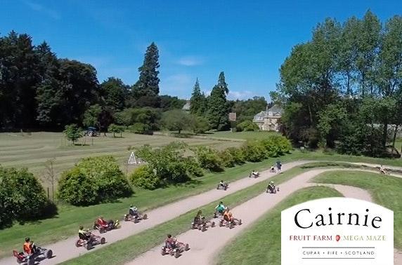 Cairnie Fruit Farm family ticket, Cupar