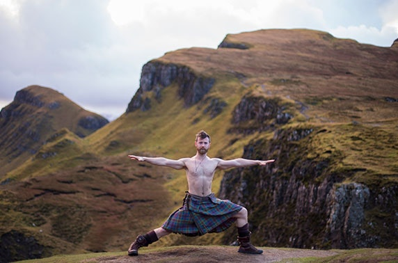 An Evening with The Kilted Yogi at Hilton Grosvenor Edinburgh