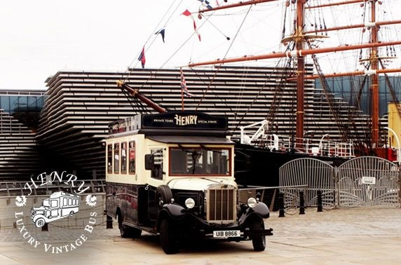 Dundee vintage bus tour