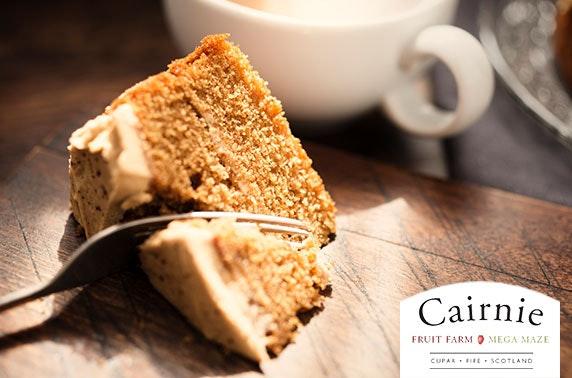 Cairnie Fruit Farm cakes & drinks