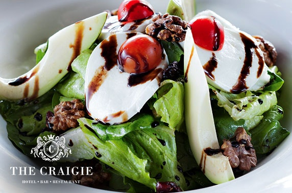 The Craigie Hotel dining