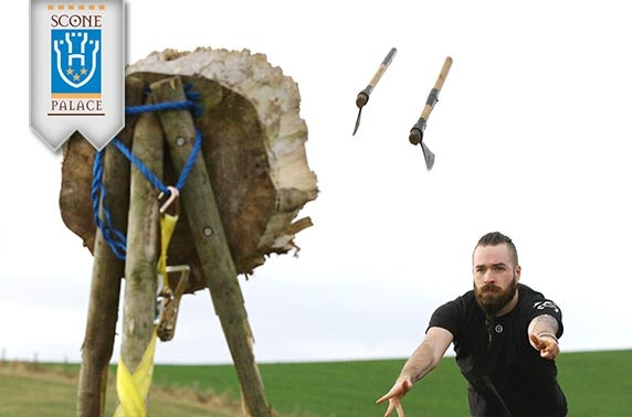 Scottish Axe Throwing Open at Scone Palace