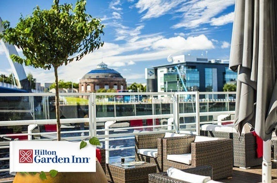 Private riverside dining at Hilton Garden Inn, Finnieston Quay