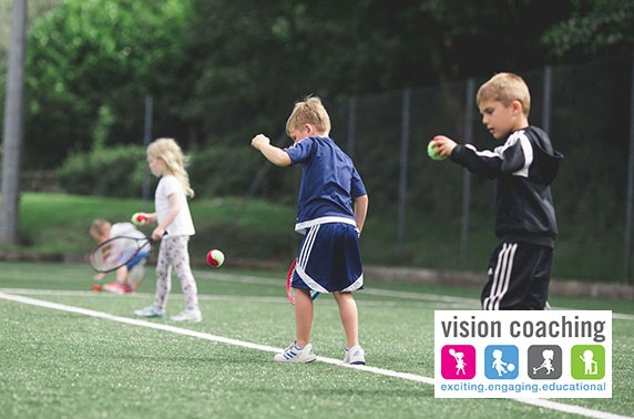 Vision Coaching summer holiday multi-sports camp