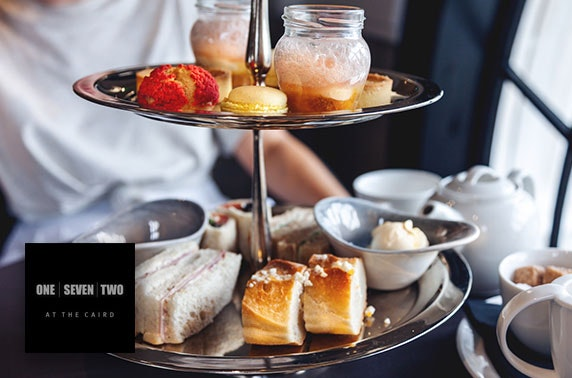 172 The Caird gin afternoon tea