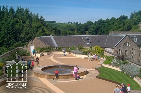 4* New Lanark Visitor Centre tickets from £4.50pp