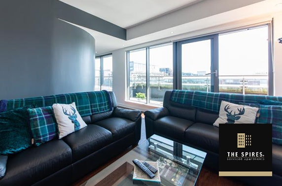 Glasgow City Centre apartment stay - from £25pp