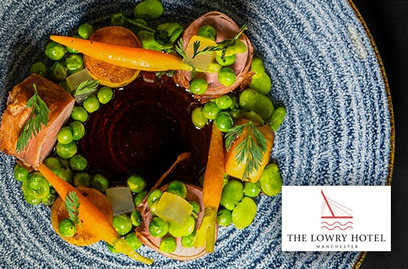 5* The Lowry Hotel 2 AA Rosette dining & drinks