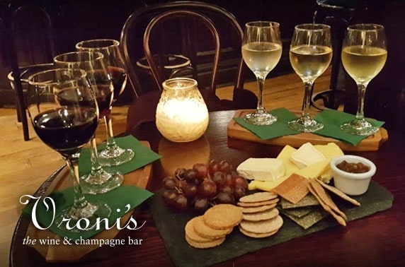 Vroni's wine flights & cheeseboard, City Centre
