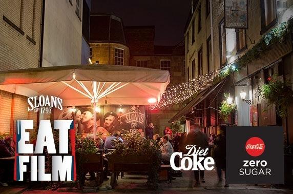 Sloans dinner & movie - £4.50pp