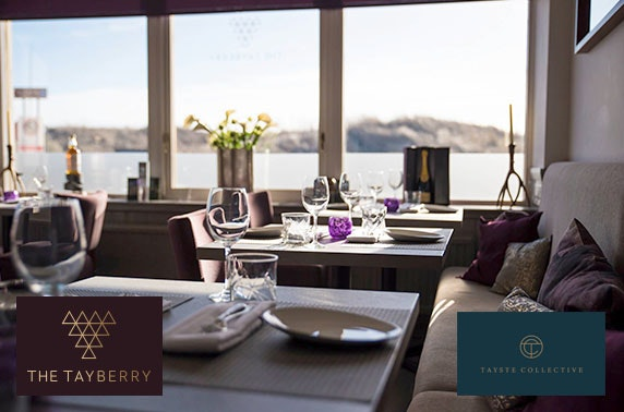 Michelin-recommended The Tayberry fine dining & Prosecco
