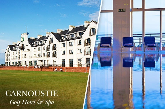 4* Carnoustie twilight spa & dinner