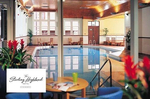 4* Stirling Highland Hotel DBB