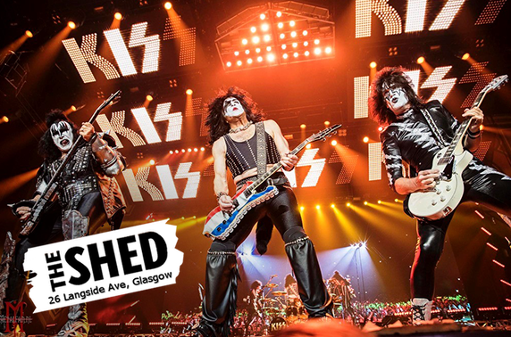 Hotter Than Hell Kiss tribute night at The Shed