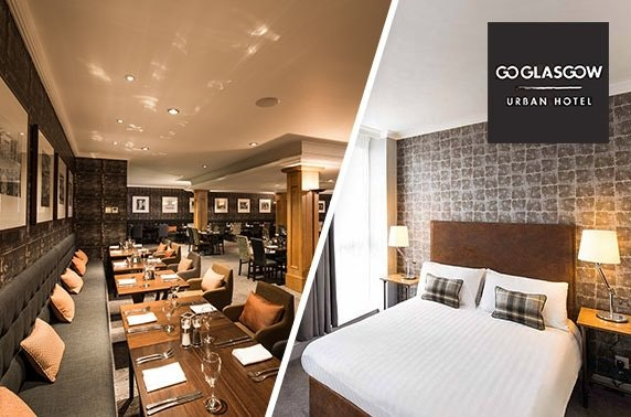 Glasgow stay with breakfast & Prosecco - £59