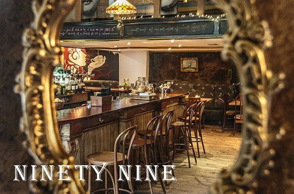 Ninety-Nine Bar & Kitchen tapas & Prosecco