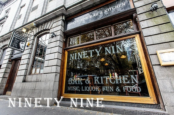 Ninety-Nine Bar & Kitchen tapas & Prosecco