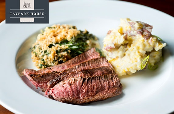 4* Taypark House steak dining & wine