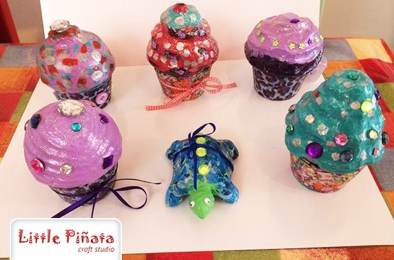 Little Piñata Craft Studio Decopatch session or kids party