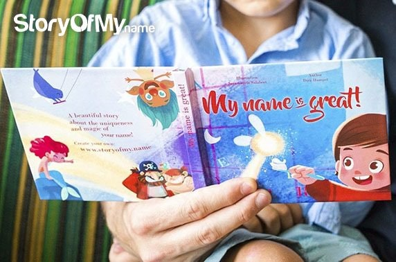 Personalised kids' books – from £6 each