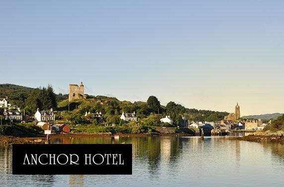 Romantic Anchor Hotel getaway, Argyll