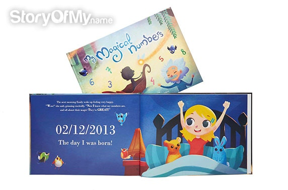 Personalised kids' books – from £11.50 each