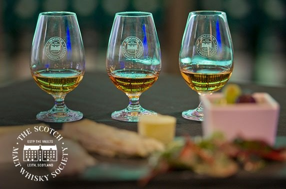 Scotch Malt Whisky Society workshop or membership