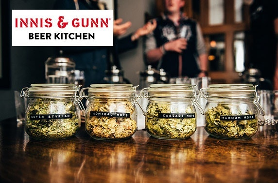 Brew School at the Innis & Gunn Beer Kitchen, Glasgow