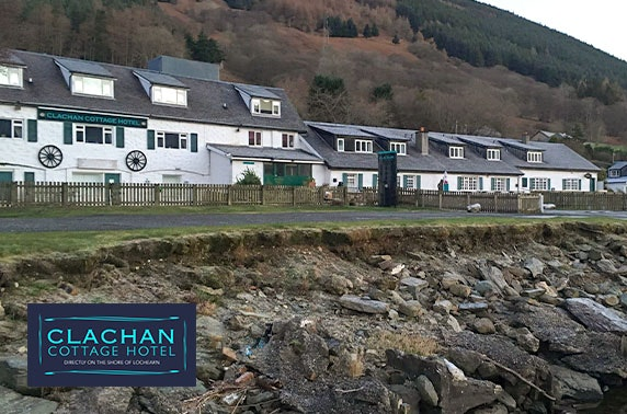 Award-winning Loch Earn stay