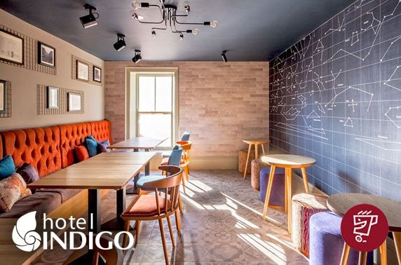 Hot drinks & cakes at recently-opened Hotel Indigo Durham