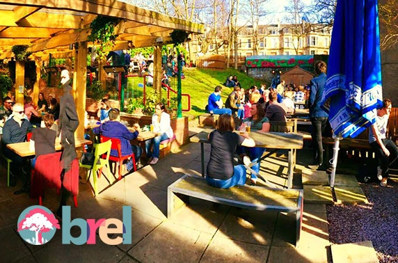 BBQ & drinks party at Brel, Ashton Lane