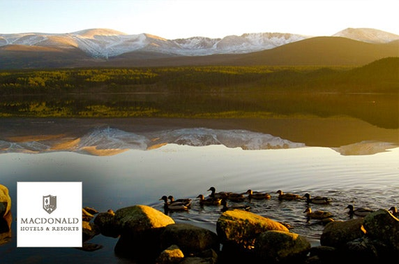 4* Macdonald Aviemore Resort - Highlands Hotel DBB
