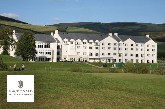 4* Macdonald Cardrona spa day, nr Peebles