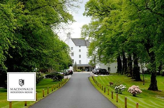 4* Macdonald Houstoun House Hotel spa day