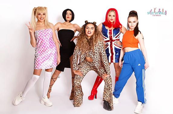 Spice Girls tribute, Dundee, Alloa & Falkirk