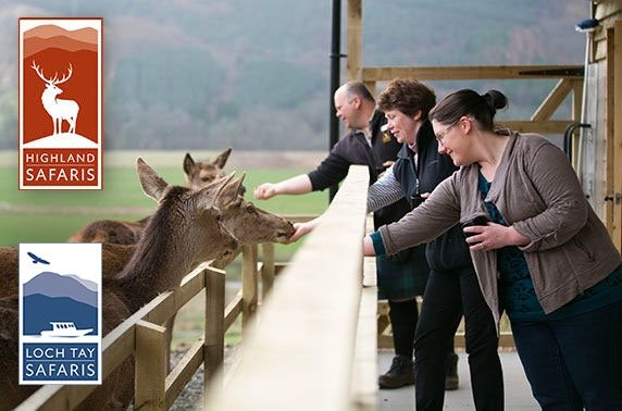 Red Deer Centre & Highland Safari
