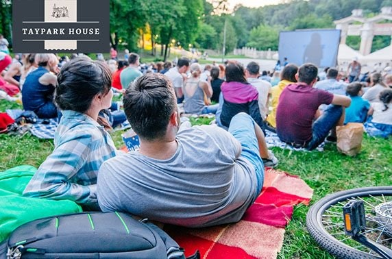 Taypark House bank holiday outdoor cinema