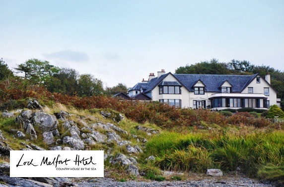 4* Loch Melfort Hotel stay